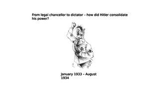 Hitler's consolidation of power
