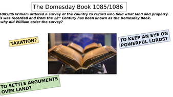 Domesday Book for GCSE (uses Oxford textbook)