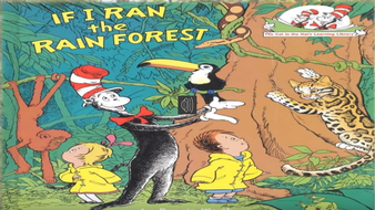 if i ran the rainforest powerpoint story for children by