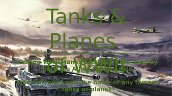 Tanks-and-Planes-of-WW2.pptx