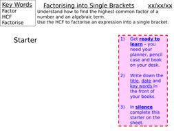 Factorising-into-Single-Brackets.pptx