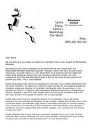 SANTA MURDER MYSTERY