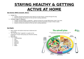 Increasing Healthy Active Lifestyles at Home