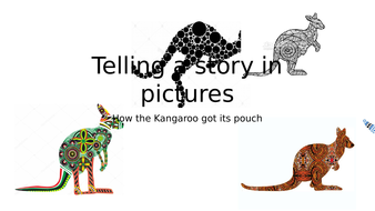 Based on the dreamtime story 'how the kangaroo got its pouch'