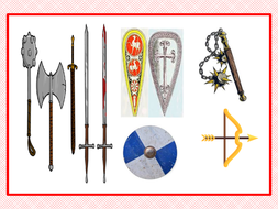 what weapons were used in the medieval times