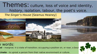 'The Singer's House' - Seamus Heaney