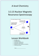 AQA A-level Chemistry 3 3 15 NMR - Nuclear Magnetic Resonance - Full Unit  Workbook with Answers