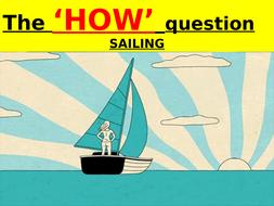 EDUQAS GCSE English Language Paper 2 Question 2 PowerPoint lesson + podcast (SAILING)