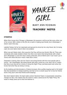 Yankee Girl by Mary Ann Rodman – teacher's notes