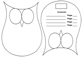 Information Text - Owl Booklet