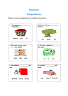 Exercise-Prepositions