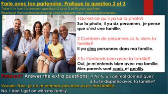 Free slide /photo description in French