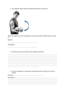 OCR (9-1) GCSE PE Assessment and Mark scheme/model answers