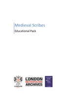 Medieval Scribes - Educational Pack