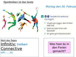 German: Sports (gern/lieber/am liebsten)