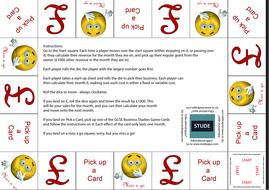 GCSE Business Enterprise and entrepreneurship revision Game for OCR GCSE (9-1) J204