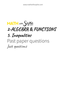 2.5.Inequalities-PastPapers-JustQuestions-MathWithSophie.pdf