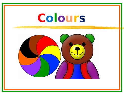 Colours Around Us