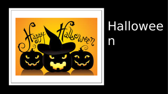 halloween powerpoint by mcleanedel teaching resources tes