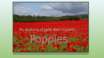 Poetry analysis poppies jane weir edexcel conflict by jlimb poetry analysis poppies jane weir edexcel conflict mightylinksfo