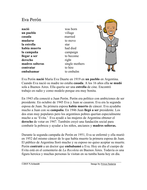 Eva Perón Biografía - Spanish Biography + Worksheet