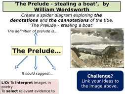 The prelude by wordsworth aqa poetry conflict cluster by crowthel wordsworth backgroundcx 1 the prelude by wordsworth ccuart Image collections