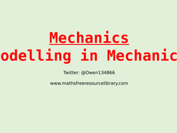 8)-M---Modelling-in-Mechanics.pptx