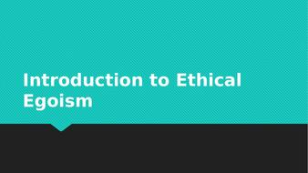 Ethical Egoism Max Stirner Eduqaswjec Alevel Ethical Thought By  Ethical Egoism Max Stirner Eduqaswjec Alevel Ethical Thought