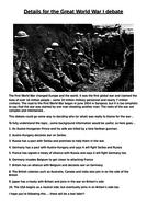 Details-for-the-World-War-I-debate.docx