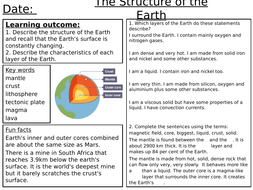 earth and space worksheets by davieskirsty teaching resources. Black Bedroom Furniture Sets. Home Design Ideas