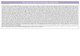 The Secret River Knowledge Organiser