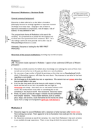 Revision Guide for DESCARTES MEDITATIONS
