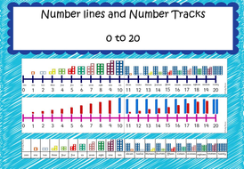 Number lines and Number Tracks 0 to20
