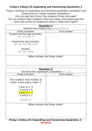 Finlay's-Fallacy---Expanding-and-factorising-Quadratics-2.docx