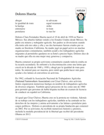 Dolores Huerta Biografía - Spanish Biography on the Life of An Activist