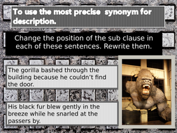 King Kong Lesson 5 Synonyms By Raphella Teaching Resources Tes