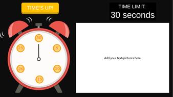 visual timer clock by phantasticphysics teaching resources tes