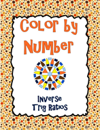 Inverse Trigonometric Ratios Color By Number By Charlotte James615