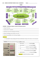 FUTURE TENSE WORKSHEET with FUTUR DIAGRAM with exercises by viola12 ...