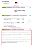 FESTE FEIERN with PAST TENSE REVISION & SPEAKING AND WRITING ...