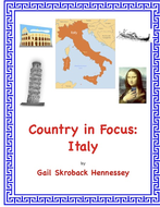 Italy and Rome(Country in Focus: An Internet Activity)