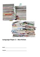 Edexcel Paper 2 Reading unit