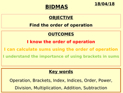 Math order of operations: pemdas (powerpoint) by jj smith   tpt.