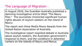 Lesson 3 - Language and Migration - Australia.pptx