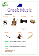 Rhythms of the World Revision Factfiles/ Posters - OCR 9-1 GCSE Music