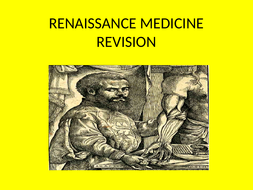 GCSE History Medicine in Britain Revision Topic 2 The Renaissance