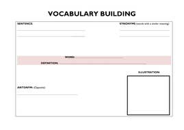 Guided Reading: VOCAB Activities by Lresources4teachers | Teaching ...