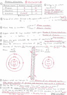 Atoms and atomic structure - worksheet with answers. GCSE ...