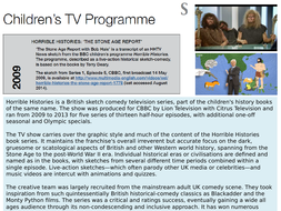 OCR EMC Anthology CBBC's Horrible Histories- The Stone Age Report, May 2009