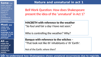 Unnatural events in Macbeth_Act 2 scene 4_the old man_audience trust